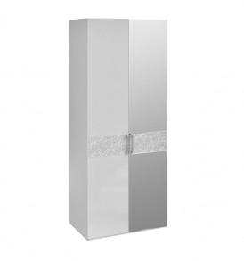 Шкаф для одежды с 1-й глухой и 1-й зеркальной дверями «Амели» СМ-193.07.004 R