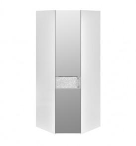 Шкаф угловой с 1-й зеркальной дверью левый «Амели» СМ-193.07.007 L