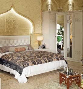 «Саванна» модульный спальный гарнитур