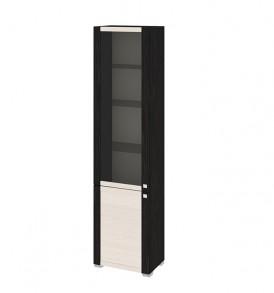 Шкаф комбинированный с 1-ой глухой и 1-ой дверью со стеклом «Фиджи» ШК(07)_32-21_18