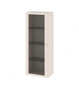 Шкаф-надстройка с 1-ой дверью со стеклом «Фиджи» ШН(11)_32_18