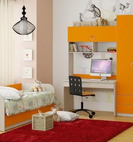 Набор мебели для детской комнаты №10 «Аватар» ГН-201.010
