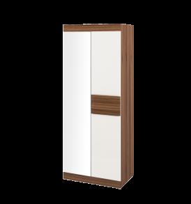 Шкаф для одежды и белья с 1-й глухой и 1-й зеркальной дверью «Рио» ПМ-149.07
