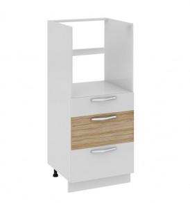 Шкаф комбинированный под бытовую технику (3-хящ.системы) с 3-мя ящиками КБ(3)3я_132(72)-60_3Я