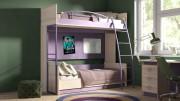 Двухъярусная кровать «Индиго» №4 ГН-145.004