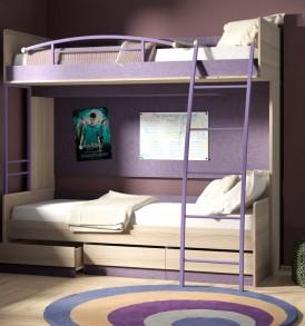 Двухъярусная кровать «Индиго» №5 ГН-145.005