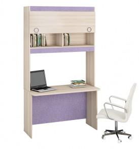 Детский письменный стол с надстройкой «Индиго»  №10 ГН-145.010