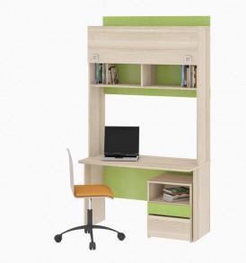 Детский письменный стол с надстройкой «Киви» №8 ГН-139.008