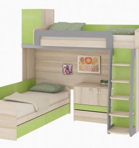 Двухъярусная кровать «Киви» №5 ГН-139.005