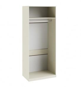 Шкаф для одежды с 1-ой глухой и 1-ой зеркальной дверями «Лючия» СМ-235.07.05