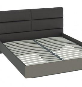 Двуспальная кровать с мягкой спинкой «Наоми» СМ-208.01.03