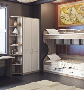 «Прованс» модульная мебель для детской комнаты
