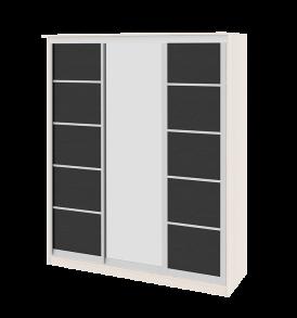 Зеркальный шкаф-купе в спальню «Стэн» СМ-140.05.002