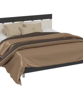 Двуспальная кровать «Сити» СМ-194.01.001