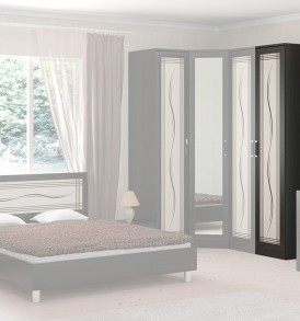 Шкаф для белья с дверью с рисунком «Токио» СМ-131.07.003