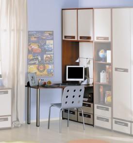 Шкаф с нишей и столом «Орион» ПМ-109.07
