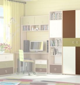 Шкаф для одежды с двумя дверями «Тетрис» ПМ-154.18