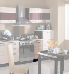 Шкаф кухонный с 1-ой дверью «Латте-1» ПМ-115.08