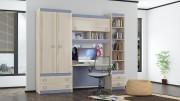 Набор мебели для детской комнаты «Индиго» №23 ГН-145.023