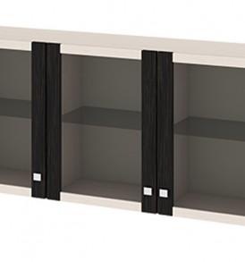 Антресоль большая с 3-мя дверями со стеклом «Фиджи» Аб(06)_31(3)