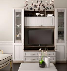 Набор мебели для гостиной «Прованс» №7 ГН-223.207