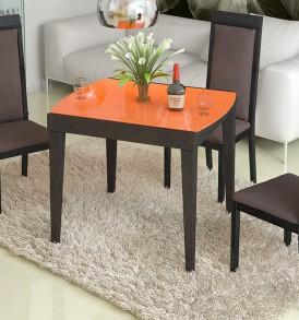 Обеденный раздвижной стол со стеклом  «Танго Т1» С-361