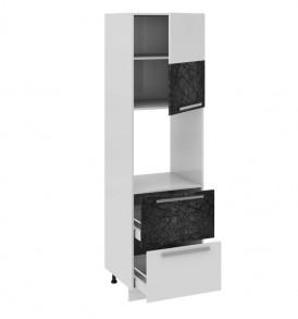 Шкаф пенал под бытовую технику с 2-мя ящиками (правый) ПБ2я_204-60_2Я1ДР(Б)