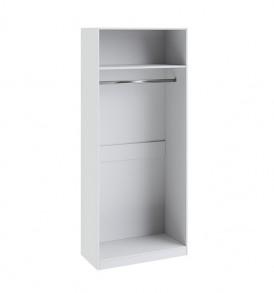 Шкаф для одежды с 1-ой глухой и 1-ой зеркальной «Ривьера» СМ 241.22.002L