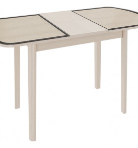 Стол обеденный раздвижной на деревянных ножках «Ницца» СМ-217.01.11