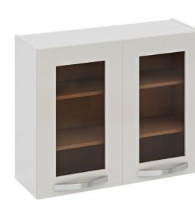 Шкаф верхний со стеклом В_72-90_2ДРс