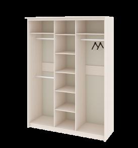 Зеркальный шкаф-купе в спальню «Стэн Лайт» СМ-140.10.005