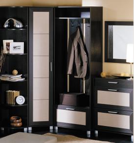 Угловой набор мебели для прихожей «Грета» №3 ГН-119.003