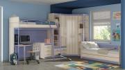 «Индиго» модульная мебель для детской комнаты