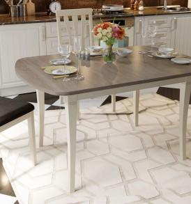 Стол обеденный раздвижной на деревянных ножках «Альт» СМ (Б)-101.02.12(1)