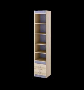 Шкаф-стеллаж с полками для книг «Индиго» ПМ-145.09