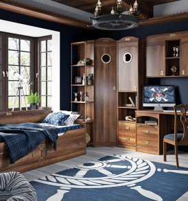 Набор мебели для детской комнаты «Навигатор» №1 ГН-250.001