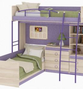 Двухъярусная кровать «Индиго» №6 ГН-145.006