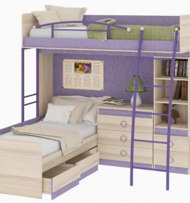 Двухъярусная кровать «Индиго» №7 ГН-145.007