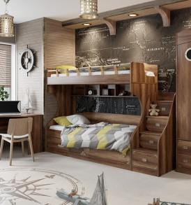 Набор мебели для детской комнаты «Навигатор» №2 ГН-250.002