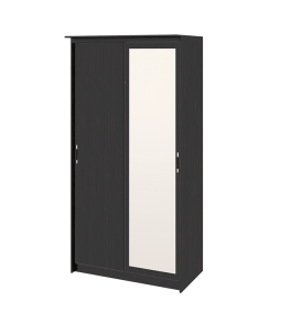 Зеркальный шкаф-купе в спальню «Стэн Лайт» СМ-140.09.002
