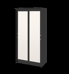 Зеркальный шкаф-купе в спальню «Стэн Лайт» СМ-140.09.005