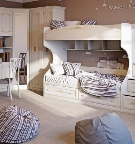 Набор мебели для детской комнаты «Лючия» №2 ГН-235.102