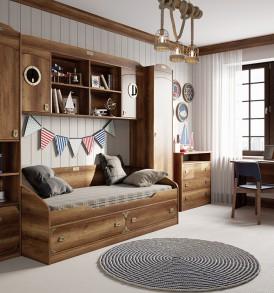 Набор мебели для детской комнаты «Навигатор» №3 ГН-250.003