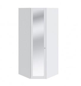 Шкаф угловой с 1-ой дверью с зеркалом «Ривьера» СМ 241.07.003