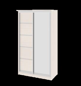 Зеркальный шкаф-купе в спальню «Стэн» СМ-140.01.002