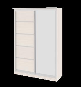 Зеркальный шкаф-купе в спальню «Стэн» СМ-140.02.002