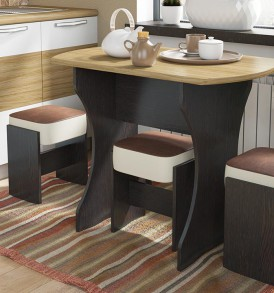 Стол обеденный на деревянных ножках «Турин» СМ-206.02.21