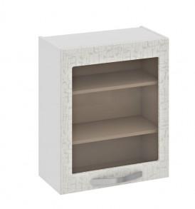Шкаф верхний со стеклом В_72-60_1ДРс