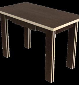 Стол обеденный «Галант с ящиком» (дуб/венге)