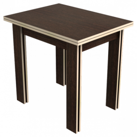 Стол поворотно-раскладной «Галант» (дуб/венге)
